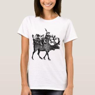 Brownies riding Reindeer T-Shirt