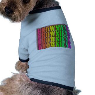 BROWNIESROCK DOG T-SHIRT