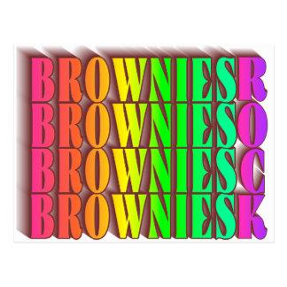 BROWNIESROCK POSTCARD