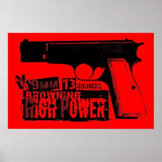 Browning Hi-Power Poster