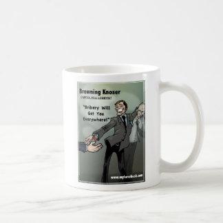 Browning Knoser- myFarcebook.com Lobbyist Coffee Mug