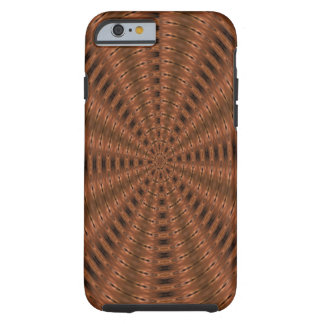 Brownish abstract modern pattern iPhone 6 case