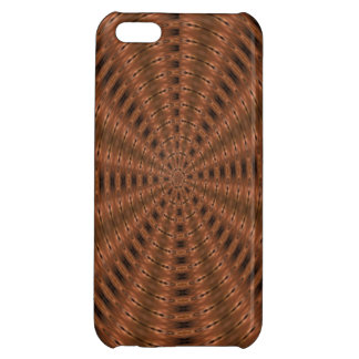 Brownish abstract modern pattern case for iPhone 5C