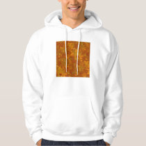 brownish camouflage pattern oak coloring hoodie