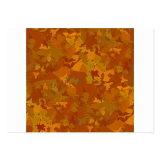brownish camouflage pattern oak coloring large business card