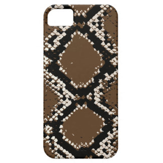 Brownish rattlesnake skin iPhone 5 covers