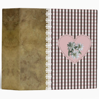 BrownOnRose - Binder