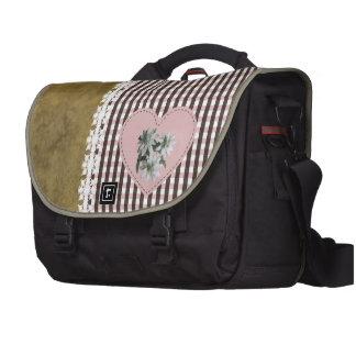 BrownOnRose - bolso del viajero del carrito Bolsas De Portatil