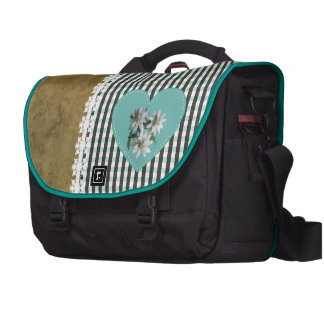 BrownOnTurquoise - bolso del viajero del carrito Bolsas Para Portatil