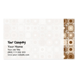 Browns and tans business card