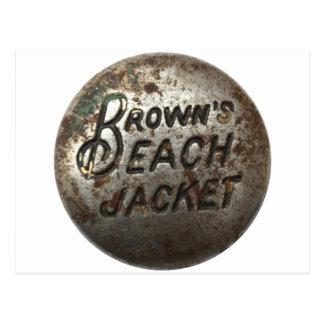 Brown's Beach Jacket Postcard