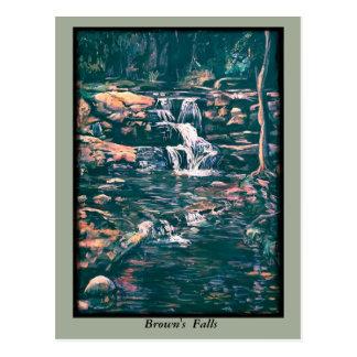 Brown's Falls Postcard