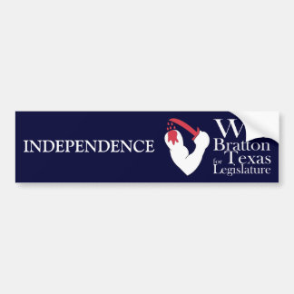 Brown's Flag for Independence, Will Bratton Bumper Stickers