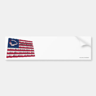 Brown's Flag of Independence Bumper Sticker