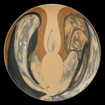 Browns Flame  Abstract plates