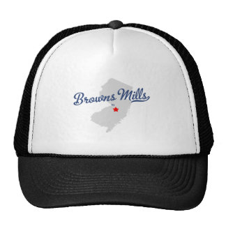 Browns Mills New Jersey NJ Shirt Trucker Hat