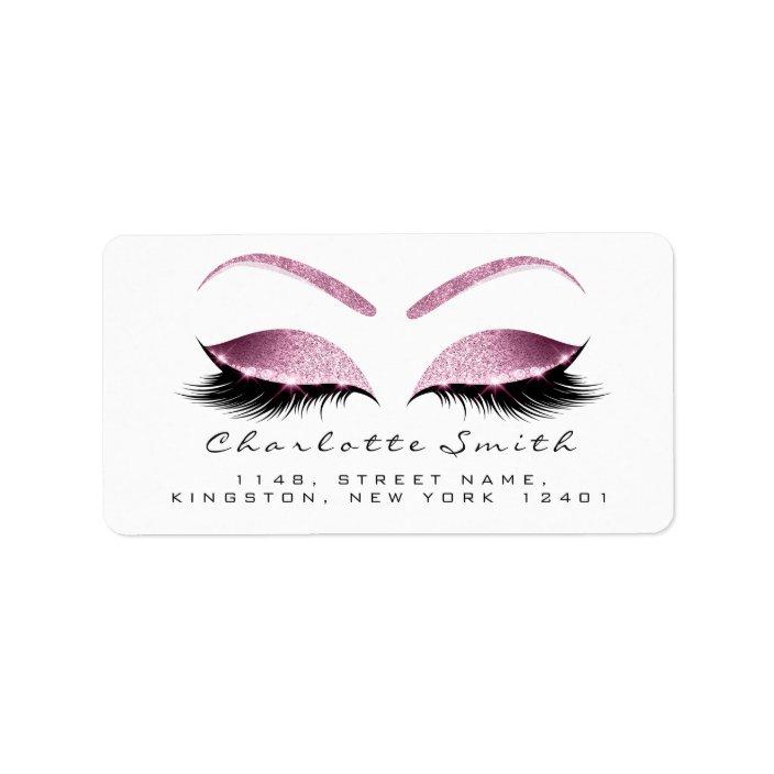 Browns Pink Makeup Lash Return Address