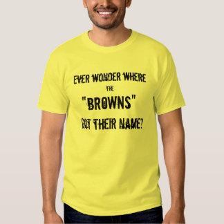 Browns Poop T-shirt