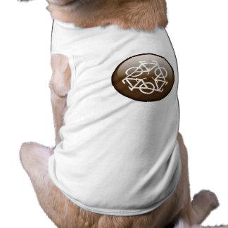 Browns recycle symbol pet tee shirt