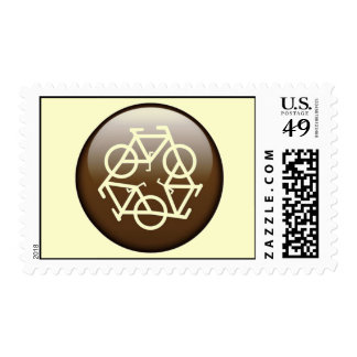 Browns recycle symbol postage