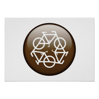 Browns recycle symbol poster