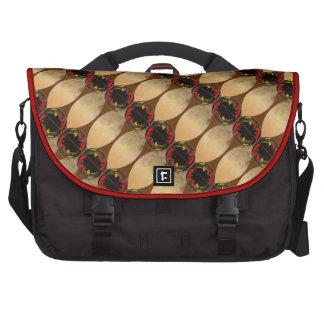 Browns tiled bag for laptop