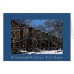 Brownstone Brooklyn, NY Card
