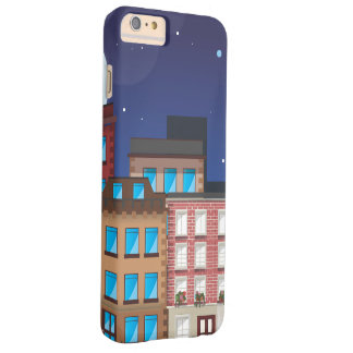 Brownstone Buildings Barely There iPhone 6 Plus Case