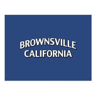 Brownsville California Tarjeta Postal