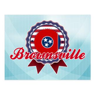 Brownsville, TN Tarjeta Postal