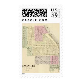 Brownville, Nebraska Stamp