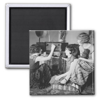 Brox Sisters: 1920s 2 Inch Square Magnet