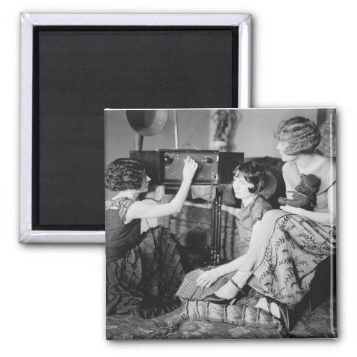 Brox Sisters: 1920s Fridge Magnet