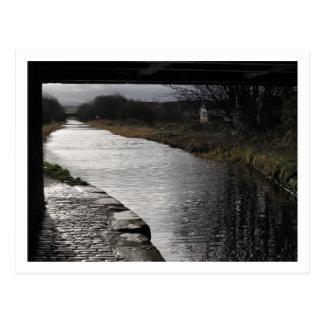 Broxburn, Union Canal Postcard