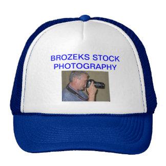 BROZEKS STOCK PHOTOGRAPHY TRUCKER HAT