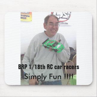 BRP racing BRP RC Car Racers Mouse Pad