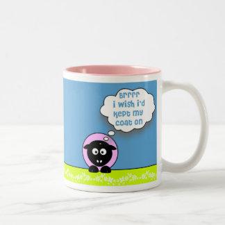 Brrr Two-Tone Coffee Mug
