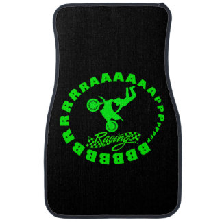 Brrraaaappp Let's race Car Mat
