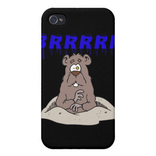 Brrrrr iPhone 4 Cárcasas