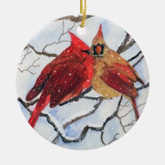 Brrrrr it's Cold Ceramic Ornament