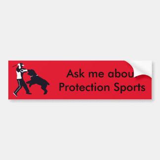 BRT Protection Sports Bumper Sticker