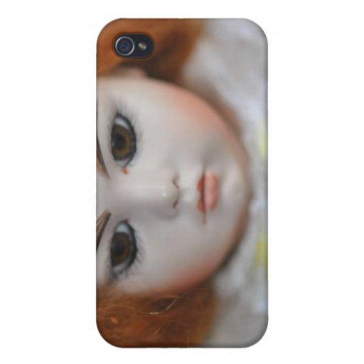 Bru Jumeau Doll Antique photograph Case For iPhone 4
