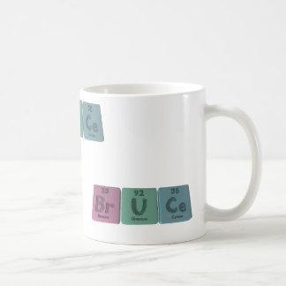 Bruce as Bromine Uranium Cerium Coffee Mugs