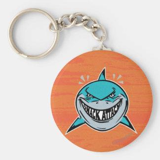 Bruce - ataque del tiburón llavero redondo tipo pin