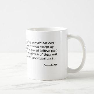 Bruce Barton - Something Inside Coffee Mug