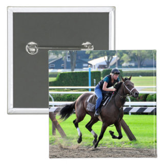 Bruce Brown Workouts at Saratoga Buttons