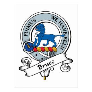 Bruce Clan Badge Postcard