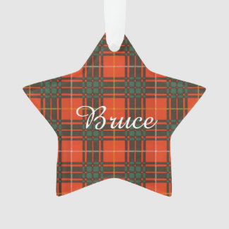Bruce clan Plaid Scottish tartan