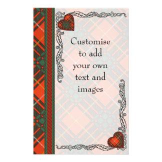 Bruce clan Plaid Scottish tartan Flyer