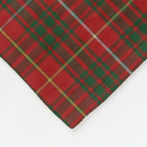 Bruce Clan Tartan Plaid Fleece Blanket